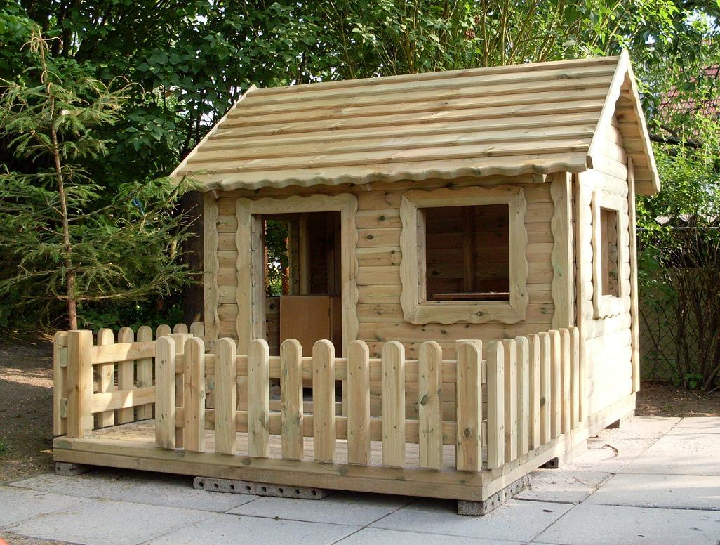 allstars spielhaus lucas kinderspielhaus gartenhaus mit terrasse
