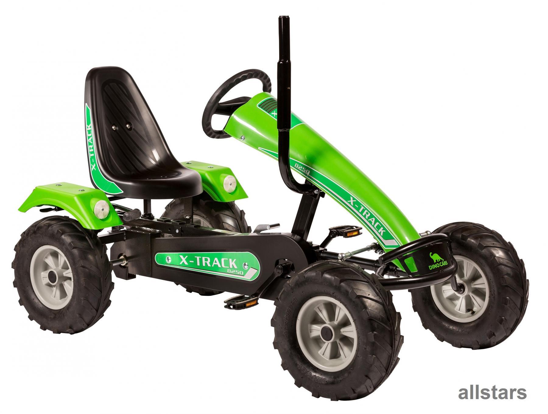 Allstars DinoCars Dino Cars Track BF1 grün GoKart KettenKart ...