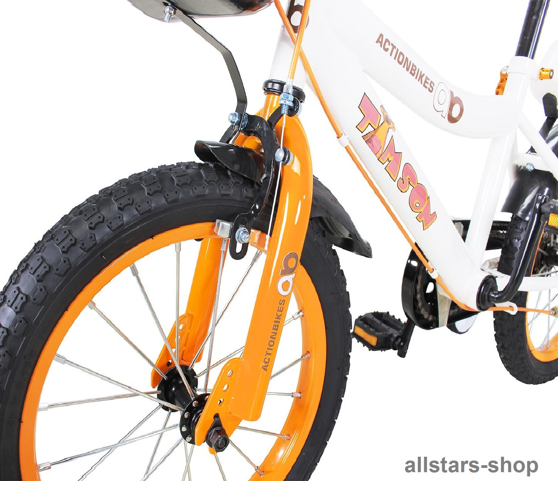 725da3e0631254 Actionbikes Kinderfahrrad Kinder-Fahrrad - Timson - 20 Zoll Bike Mädchen  Junge orange für Kindergarten
