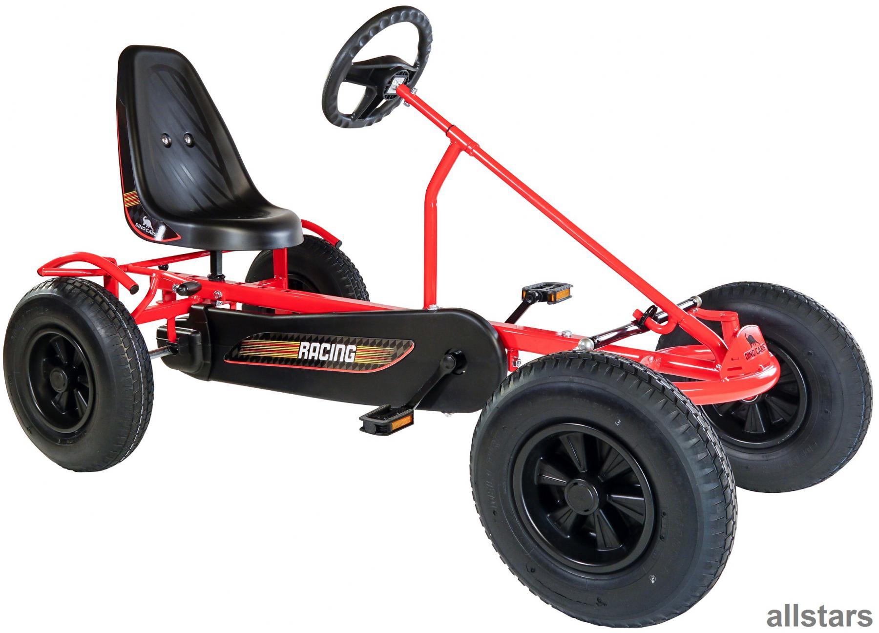 dinocars dino cars gocart gokart sprint af tretauto kette kettcar rot kaufen bei euro direkt. Black Bedroom Furniture Sets. Home Design Ideas