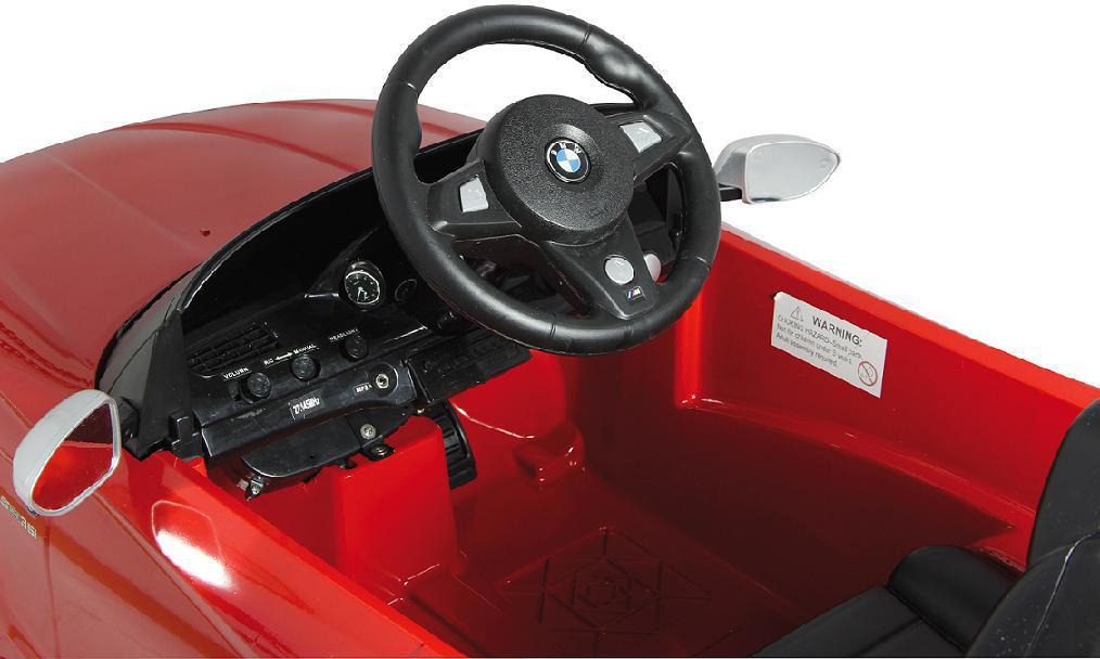 Jamara BMW Z4 rot Roadster Kabrio Edition E-Auto ...