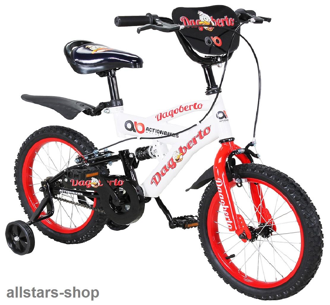 actionbikes kinderfahrrad kinder fahrrad dagoberto 16. Black Bedroom Furniture Sets. Home Design Ideas