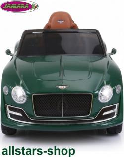 Jamara Kinderauto Elektroauto Ride On Car Bentley EXP12 dunkelgrün Cabriolet Kids - Vorschau 4