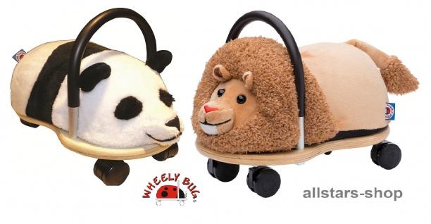 Wheely Bug Rutscher Löwe und Panda Kleinkindrutscher klein 360 Grad rundum allstars