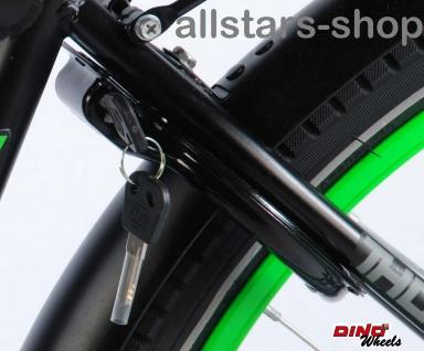 """Allstars Dino Bikes Wheels Thombike Kinderfahrrad Jungenfahrrad 26 """" mit Rücktrittbremse grün - Vorschau 5"""