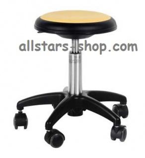 Allstars Stuhl Kinderstuhl Rollhocker Drehstuhl gelb Rollstuhl Kinderhocker KiGa