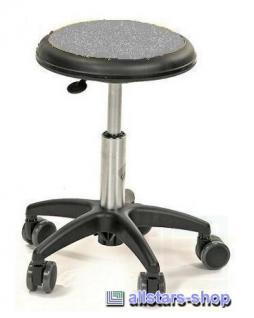Allstars Stuhl Kinderstuhl Rollhocker Drehstuhl grau Rollstuhl Kinderhocker KiGa