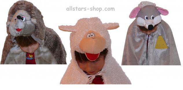 Allstars Kostüme-Set Kinder-Kostüm 13 x Tierkostüme für Kindergarten Faschingskostüm - Vorschau 3