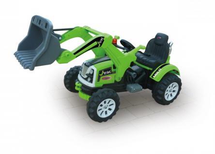 Jamara Ride On J-Trac Multi grün 6V Bagger Kinderauto Elektroauto