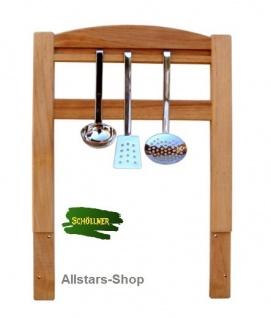 Schöllner Küchenregal + Besteckhalterung für Kinderküche Spielküche Star Maxi aus Holz für Kindergarten - Vorschau 3