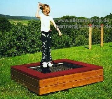 Hally-Gally Spogg Spielplatzgeräte Mini-Trampolin Sprungmatte zum Aufstellen Huck