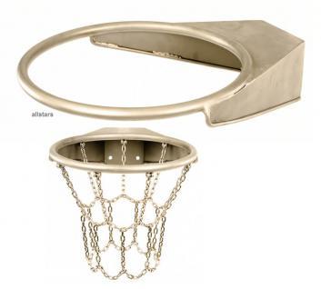 Beckmann Basketballring aus Edelstahl Basketball Basketballkorb