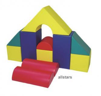 Softbausteine Bausteine Großbausteine 11 tlg. ProStyle Therapie Kindertagesstätte - Vorschau