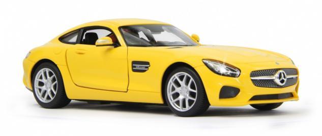 Jamara RC Auto Mercedes AMG GT 1:14 gelb Tür fernbedienbar 40 MHz Funk