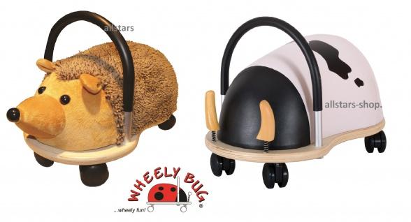 Wheely Bug Rutscher Igel und Kuh Kleinkindrutscher klein 360 Grad rundum allstars