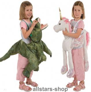 Allstars Kinder-Kostüm Tierkostüme Dino + Einhorn Faschingskostüme Schlupfkostüme Karneval