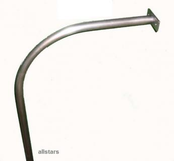 Kletterstange Rutschstange Kletterrutschstange V2A verstärkt L = 4, 0 m mit Bogen Beckmann