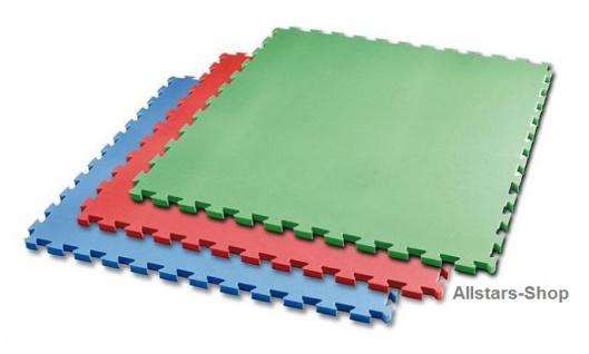 Bänfer Fallschutzmatte Schutzmatte Turnmatte Bodenturnmatte 1 m² Vario-Top rot - Vorschau 2