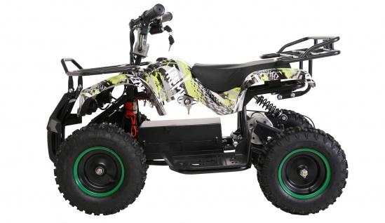 Actionbikes Kinder-Quad Poketquad Miniquad Torino 800 Watt Motor Kinderauto verschiedene Farben Miweba