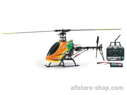 E-Rix 450 Carbon RTF Gas Rechts uneingeflogen RC Helikopter
