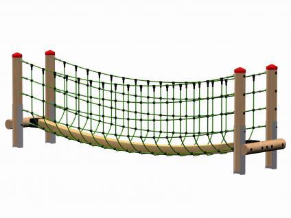 Huck Dschungelbrücke Netzbrücke Herkulesseil Kletterbrücke Spielplatz