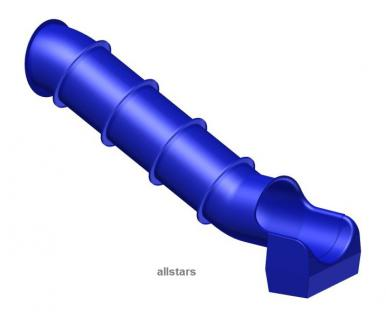 Beckmann Rutsche Röhrenrutsche L= 6, 49 m PH= 3, 25 m Modulröhrenrutsche