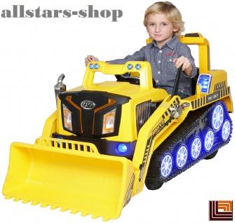 Actionbikes Bagger D2810 Sitzbagger Sandbagger Kinderauto Kinder-Elektrobagger Miweba