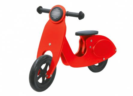 Jamara Laufrad rot Rad Bike Lauflernrad Kinderlaufrad Holzrad