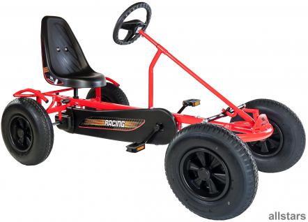 DinoCars Dino Cars GoCart GoKart Sprint AF Tretauto + Kette Kettcar rot