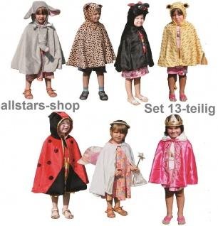 Kostüme-Set Kinder-Kostüm 10 Tierkostüme plus König Königin Engel Allstars - Vorschau 3