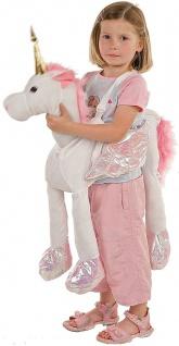 Allstars Kinder-Kostüm Tierkostüm Einhorn Faschingskostüm Schlupfkostüm Karneval