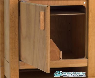 Allstars Kinderküche 1 Kühlschrank H = 55, 5 cm Spielküche aus Buchenholz - Vorschau 2
