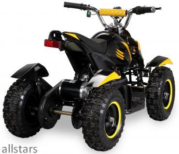 Allstars Pocketquad gelb Cobra 800 Watt Miniquad - Vorschau 2
