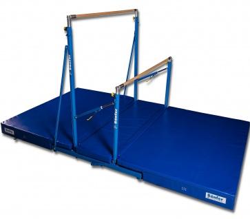 Bänfer Sport Niedersprungmatte klappbar für Stufenbarren Super Sprungmatte