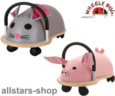 Wheely Bug Rutscher Ferkel Piggi und Maus Speedy Kleinkindrutscher klein 360 Grad rundum allstars