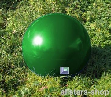Beckmann Sitzelement Hocker rund Sitzgelegenheit Design-Kugel Ø = 50 cm grün mit Bodenanker
