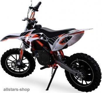 Actionbikes Kindermotorrad Kinder-Crossbike Poketbike Gazelle E-Motorrad orange - Vorschau 2