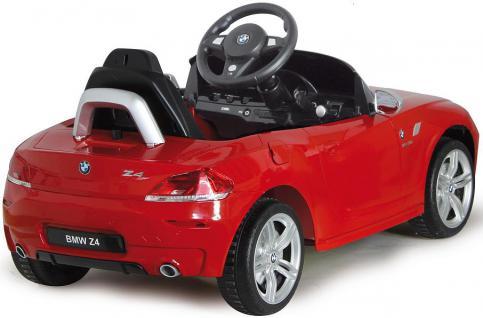 Jamara BMW Z4 weiß Roadster Cabrio Edition Kinderauto Kinderfahrzeug mit E-Motor zum Selbstfahren Ride on Car Elektroauto mit RC-Fernbedienung - Vorschau 3