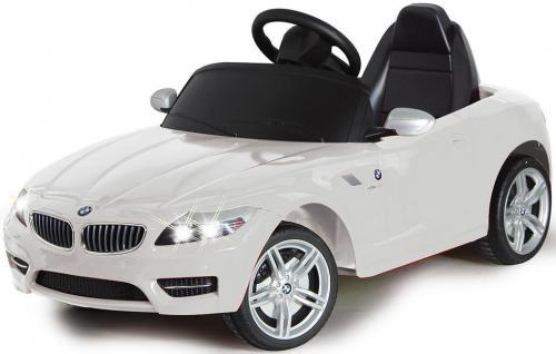 Jamara BMW Z4 weiss weiß Roadster Kabrio Edition E-Auto Kinderauto Kinderfahrzeug mit E-Motor zum Selbstfahren Ride on Car Elektroauto mit RC-Fernbedienung