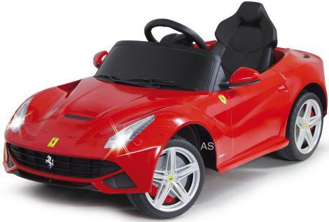 Jamara Ferrari F12 Berlinetta Edition 2-Gang-Automatic Kinderauto Kinderfahrzeug mit E-Motor zum Selbstfahren Ride on Car Elektroauto mit RC-Fernbedienung