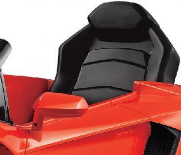 Jamara Ride on Car Lamborghini Aventador orange Kinderauto mit E-Motor zum Selbstfahren Elektroauto mit RC-Fernbedienung - Vorschau 3