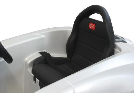 Jamara Ride on Car Lamborghini Aventador weiss Kinderauto mit E-Motor zum Selbstfahren Elektroauto mit RC-Fernbedienung - Vorschau 2