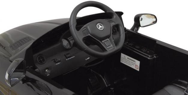 Jamara Mercedes SLK Class 10 schwarz Kinderauto Kinderfahrzeug mit E-Motor zum Selbstfahren Ride on Car Elektroauto mit RC-Fernbedienung - Vorschau 4