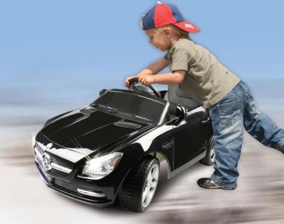 Jamara Mercedes SLK Class 10 schwarz Kinderauto Kinderfahrzeug mit E-Motor zum Selbstfahren Ride on Car Elektroauto mit RC-Fernbedienung - Vorschau 2