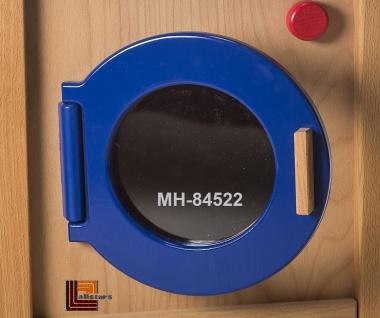 Allstars Kinderküche Waschmaschine H = 45, 5 cm Spielküche aus Buchenholz - Vorschau 2