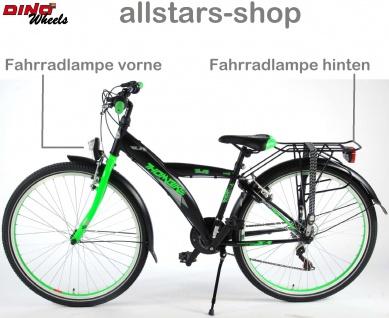 """Allstars Dino Wheels Bikes Thombike Kinderfahrrad Jungenfahrrad 26 """" mit 21-Gang-Ketten-Schaltung grün - Vorschau 4"""