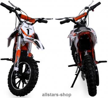 Actionbikes Kindermotorrad Kinder-Crossbike Poketbike Gazelle E-Motorrad orange - Vorschau 3