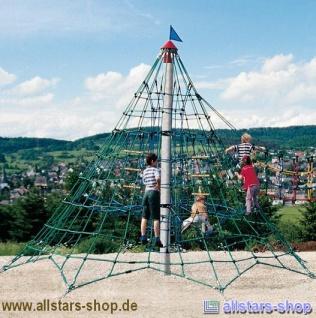 Huck Seilnetzturm 2 Kletterpyramide