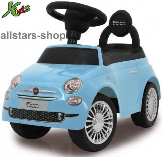 Jamara Fiat 500 Kinder-Auto Rutscher Lauflernwagen Rutschauto blau für Kindergarten