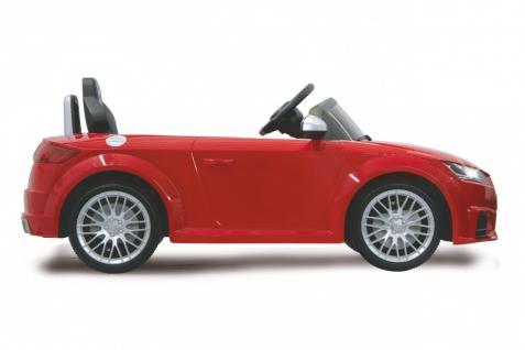Jamara Kinderauto Elektroauto Elektro Ride on Car Audi TTS Roadstar Auto rot - Vorschau 2